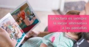 Lectura pantallas infancia