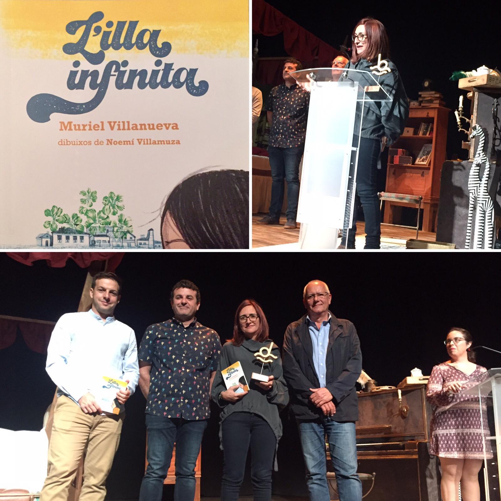 Muriel Villanueva guanya el II Premi de literatura infantil Ciutat de Dénia