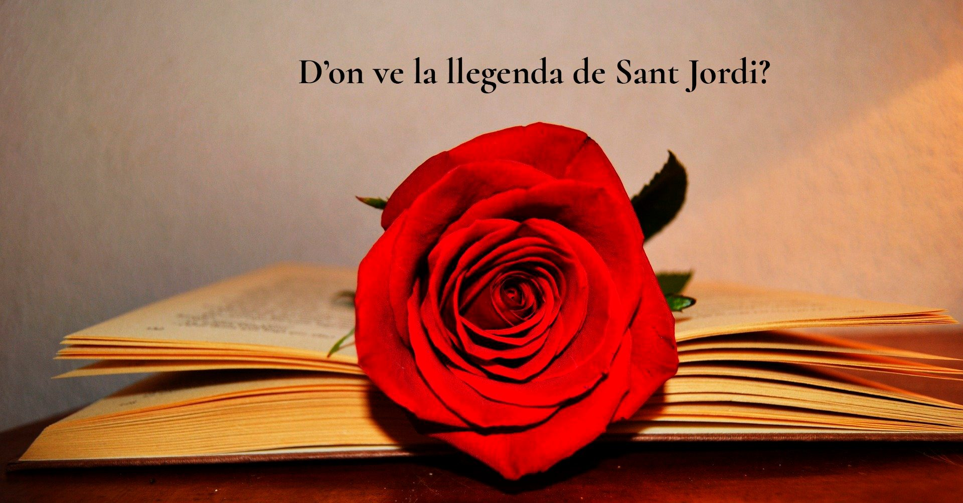 Origen llegenda Sant Jordi