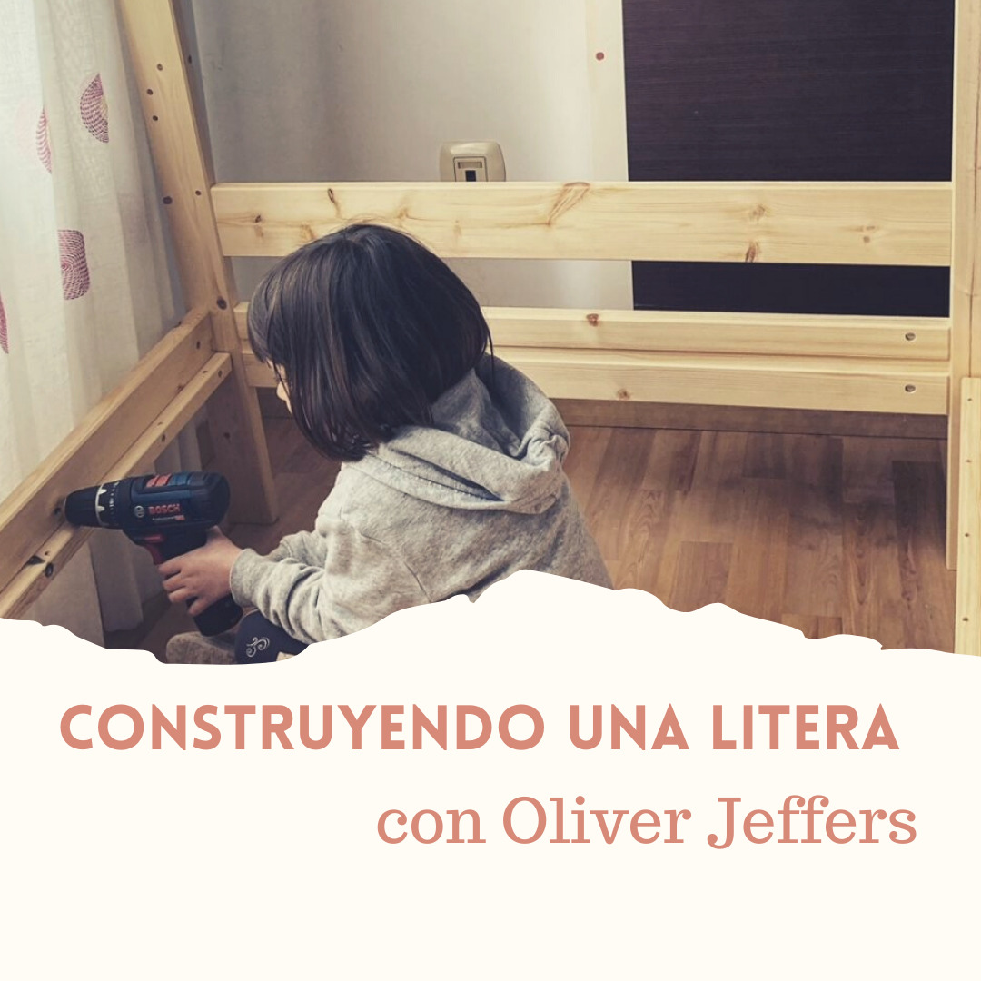 Litera Ikea con Oliver Jeffers